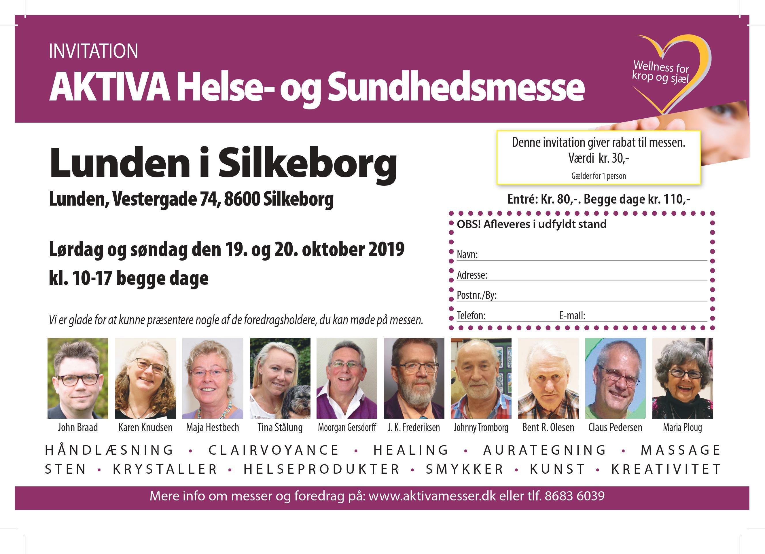 AKTIVA helsemesse i Silkeborg